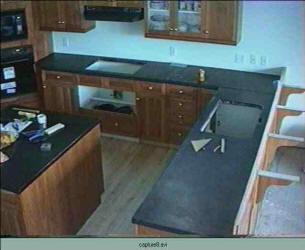 Concrete Countertop On Cabinets ...