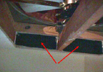 Install a whole house exhaust fan yourself seal gaps between joists with supplied spacers or make them yourself mozeypictures Images