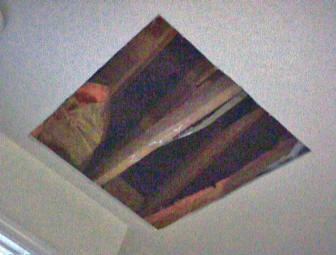 Install a whole house exhaust fan yourself raw hole cut in ceiling for attic fan mozeypictures Gallery