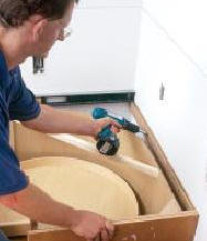 How to Install Wall and Floor Cabinets
