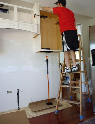 Solo Kitchen Cabinet Installation