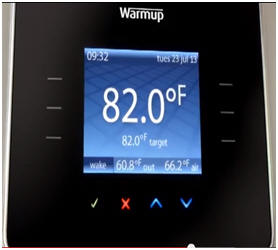3iE energy-monitoring thermostat ... : radiant heat thermostat wiring - yogabreezes.com