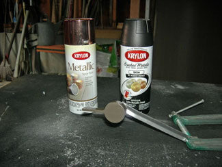 Ly Faux Oil Rubbed Bronze Finish To