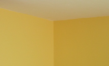 Contrast Of Paint Color At Wall Corners Due To Shadows