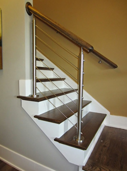 Example Of Cable Railing Installed