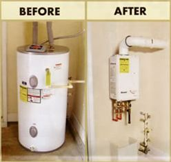 Tankless or Demand Water Heater Comparison of Different Types