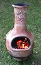 Using and Maintaining the chiminea outdoor fireplace